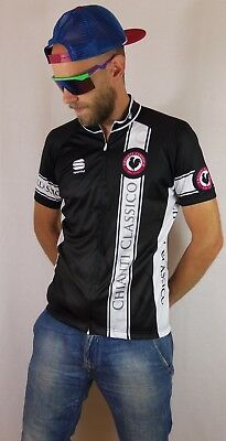2d73233cc Sportful Chianti Classico Full Zip Cycling Jersey Shirt Large Made in Italy