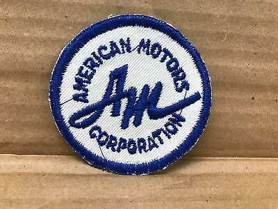"Vintage Original 1950/60's Embroidered American Motors Jacket Patch 3"" X 3"""