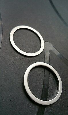 2 PCS METAL RINGS FOR MOD. YOUR HELIOS 44-2 FOCUS TO INFINITY on NIKON DSLR'S