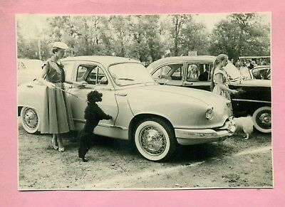 Photographie Grand Format Panhard  Dyna  Z  Grand Standing ! ( Bourges - 1956 )