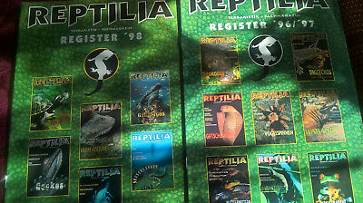 Reptilia Register 1996 bis 2005 top zustand