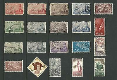 y5340 Spain / A Small Collection Early & Modern  Used