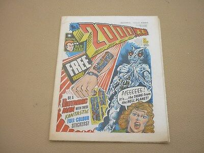 VINTAGE COMIC 2000AD BRITISH COMIC ISSUE No 2 1977 - HOUSE CLEARANCE
