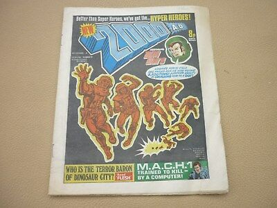 VINTAGE COMIC 2000AD BRITISH COMIC ISSUE No 4 1977 - HOUSE CLEARANCE