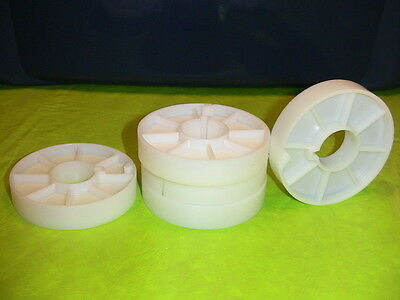 16mm 3 inch film cores for split reel use 500 quanity