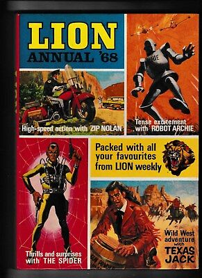 Lion Annual 1968 Not Price Clipped And In Very Good Condition