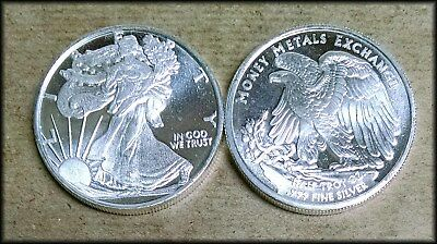 Walking Liberty 1/2 Troy Ounce .999 Fine Silver Coin Round Eagle - BINo