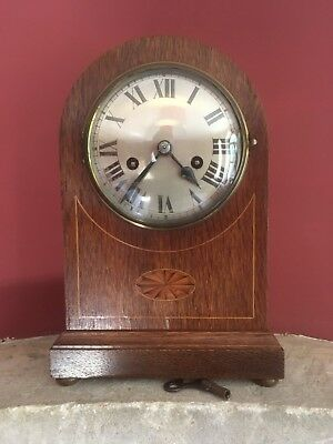 Handsome Chiming 8 Day Domed Bracket/Mantle Clock –circa 1900