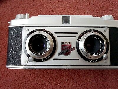 TDC vintage Camera Bell & Howell Chicago 41 stereo colorist Germany rodenstock