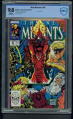 New Mutants #85 (1990) CBCS Graded 9.8 ~ Liefeld ~ McFarlane ~ Vulture ~ Not CGC