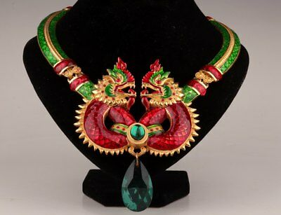Handmade Classical Collar Cloisonne Necklace Cloisonne Bride Chinese