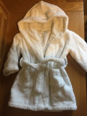 White Company Baby Boy /Girl Dressing Gown 6-12 Months