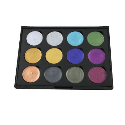 Cosmic Shimmer Iridescent Watercolour Paint Palette - Chic & Frosted Colours
