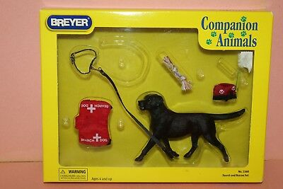 Breyer Companion Animals Series - #1560 Dog Search And Rescue Set    New
