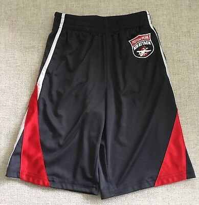 Disney Cars by Jumping Beans Black Piston Peak Air Attack Shorts Sz 7X. EUC.  D