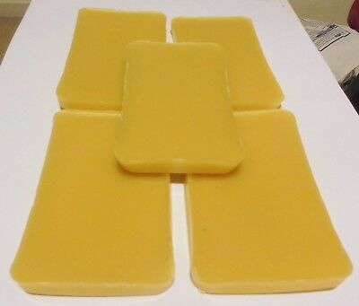500 grams Organic Australian Beeswax Unbleached Candles/Soap/Balm/polish/Wraps