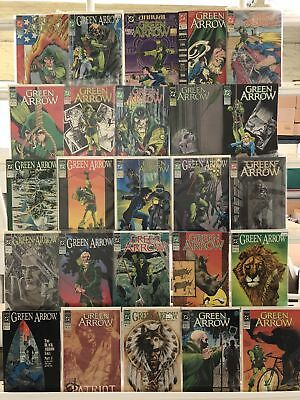 Green Arrow Comics Huge Lot 25 Comic Book Collection Set Run Books Box 2