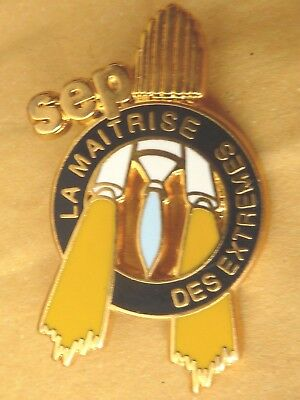 Pin's Pin Badge Avion Aerospatiale Sep La Maitrise Des Extremes