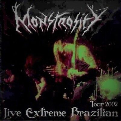 Monstrosity ‎– Live Extreme Brazilian Tour 2002 US Death Metal CD RARE SEALED
