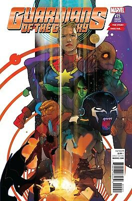 GUARDIANS OF GALAXY #15, STORY THUS FAR VARIANT, Marvel Comics (2016)