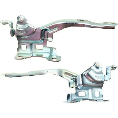 KI1236121 Pair New Set of 2 Hood Hinges Driver /& Passenger Side LH RH KI1236122