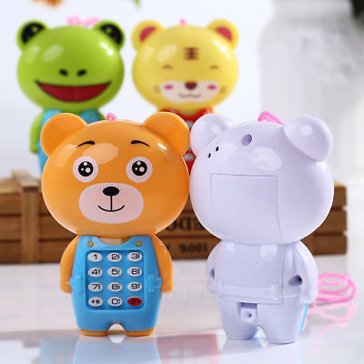 Cartoon Music Phone Baby Toys Educational Learning Toy Phone Gift For Kids Babys