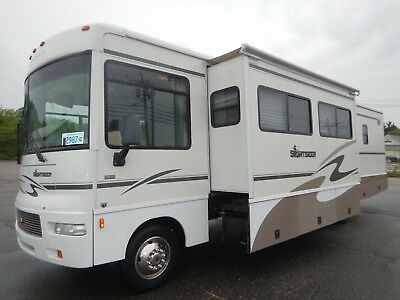 2006 Winnebago Sightseer 34ft Class A Motorhome 3 Slides Low Miles Ford V10