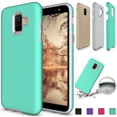 For Samsung Galaxy J7 J3 2018 A6 Shockproof Silicone Protective TPU Case Cove