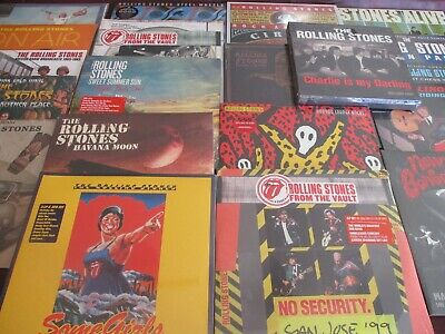 Rolling Stones Live Set With Ya's Ya's On Air & Beyond 20 Titles 35+ Lp's +Bonus
