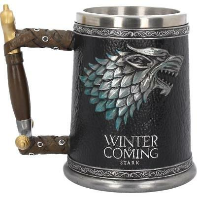Winter Is Coming Game of Thrones Tankard Collectable Drinking Glass Vessel Gift