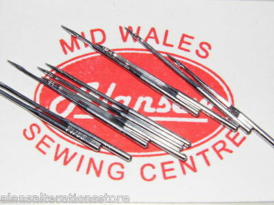 10 Needles for the Brother LX25 LS14 Domestic Sewing Machines