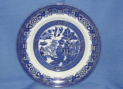 Wood & Sons~BLUE WILLOW Dinner Plate ~New~Made in England