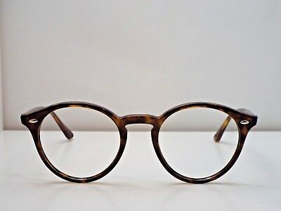 5e1ad04706a Authentic Ray-Ban RB 2180 710 83 Round Tortoise Sunglasses Frame  223