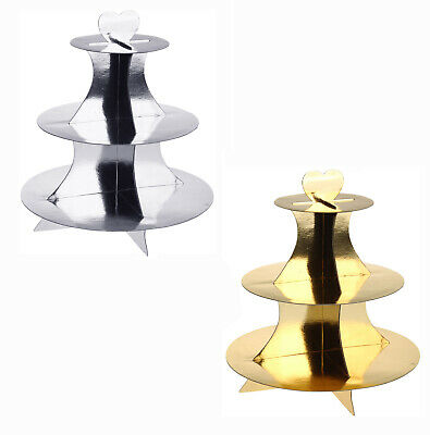 3 Tier Christmas Party Cardboard Cake Stand