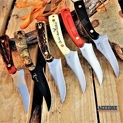 "7"" ELK RIDGE SKINNING FIXED BLADE KNIFE Fishing Outdoor Razor HUNTERS SURVIVAL F"