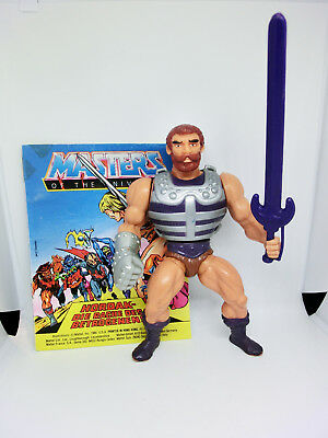 Masters Of The Universe Fisto Action Figur  Vintage He Man Motu