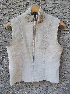 Sheep skin blend vest by Express sz. small