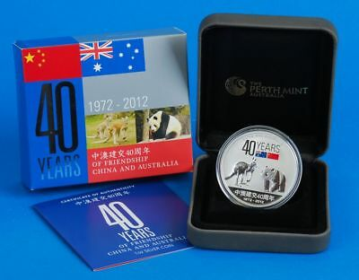 "Australien 1 Dollar 2012 ""40 years of Friendship Australia / China"""