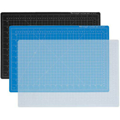 "New Dahle 18"" x 24"" Vantage Black Self-Healing Cutting Mat - 10672"