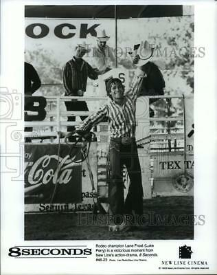 1993 Press Photo Luke Perry as rodeo champion Lane Frost in 8 Seconds