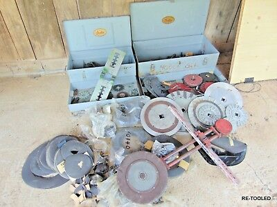 "DEXTER Gate Valve Reseater 4000N 1-1/2"" UP TO 8"" MADE IN USA HUGE LOT TOOL BOX"