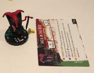 Horrorclix Nightmares Jack In The Box #024 with Card NEW from Booster Pack