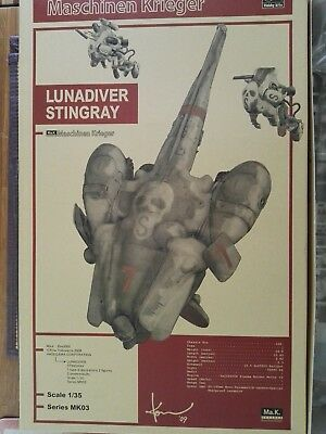 MaK.3000 Lunadiver Stingray 1:35