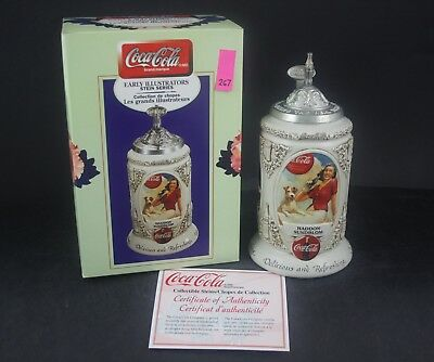 1999 Budweiser Coca Cola Early Illustrators Limited Stein CS400 (267