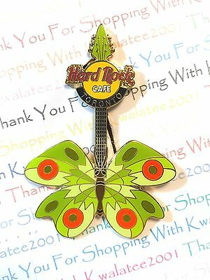 Hard Rock Cafe Toronto Tattoo Butterfly Guitar 2004 HRC Pin LE NEW Pin # 22523