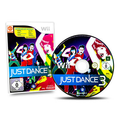 Nintendo Wii Game Just Dance 3 Boxed without Instructions #A