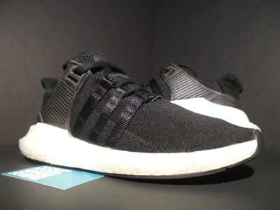 new product 29c4b 9b58b Adidas Eqt Support 9317 Equipment Milled Leather Core Black White Bb1236  10.5