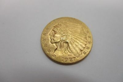 1927 U.S. $2.50 Indian Gold Coin