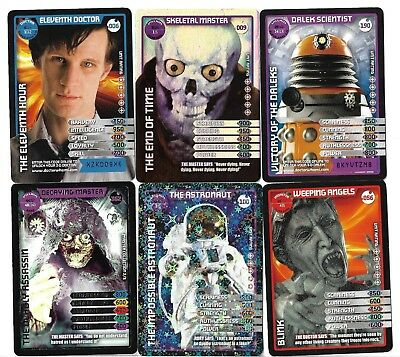 Dr Doctor Who Monster Invasion Super Rare Ultimate Cards Pick What You Need