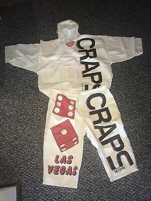 Craps Dice Hooded Top & Pants Outfit Halloween Or Convention? Las Vegas 1991